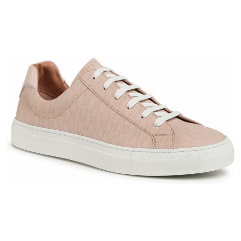 Sneakersy BOSS - Katie Low Cut-Hb 50435206 10213221 Light/Pastel Pink 682 Hugo Boss