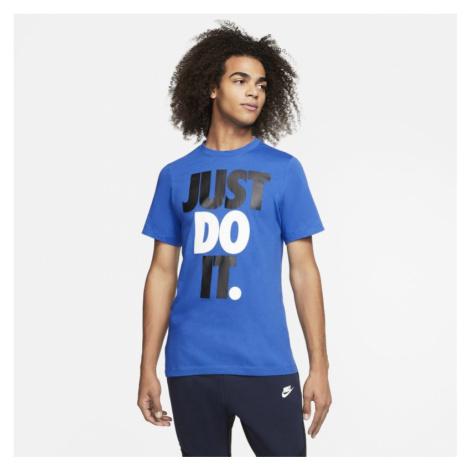 T-shirt męski Nike Sportswear JDI - Niebieski