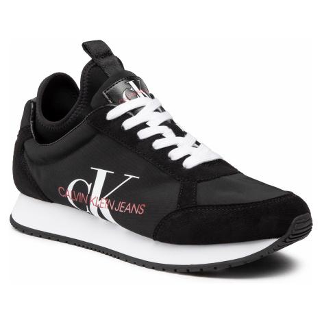 Sneakersy CALVIN KLEIN JEANS - Jongi B4S0737 Black