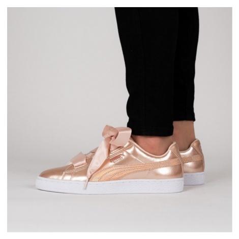 Buty damskie sneakersy Puma Basket Heart Lunar Lux 365993 02