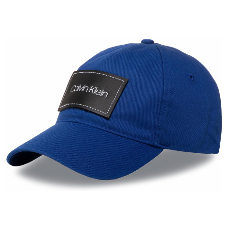 Czapka z daszkiem CALVIN KLEIN - Leather Patch Bb Cap K50K505490 CEN