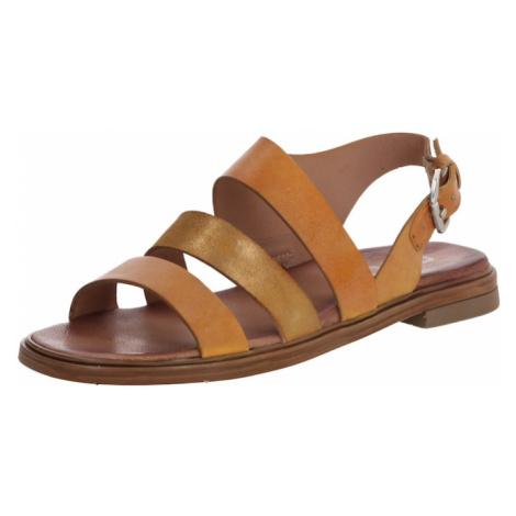 MJUS Sandały z rzemykami 'GRAM' beżowy / jasnobrązowy