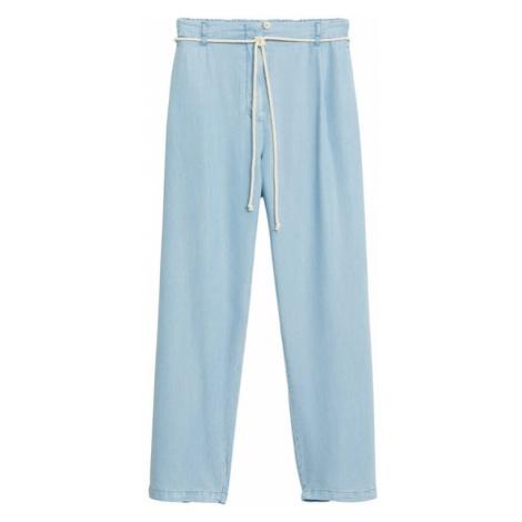 MANGO Spodnie 'Bowie' jasnoniebieski