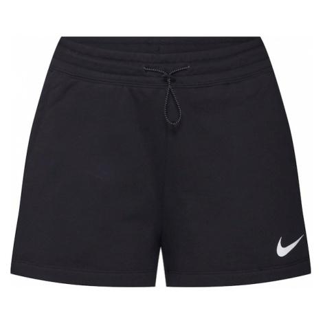 Nike Sportswear Spodnie 'W NSW SWSH SHORT FT' czarny