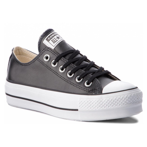 Trampki CONVERSE - Ctas Lift Clean Ox 561681C Black/Black/White