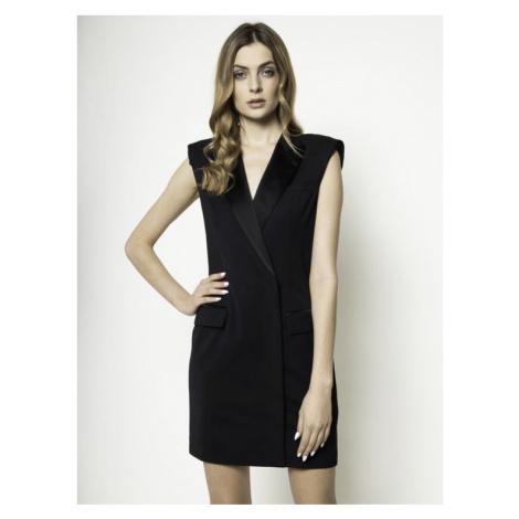 Escada Sport Sukienka koktajlowa Dyla 5031836 Czarny Slim Fit