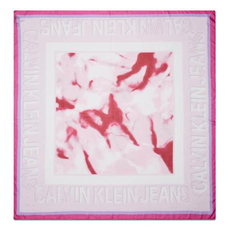 Calvin Klein Jeans Chusta K60K608021 Różowy