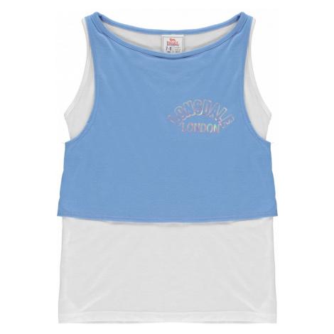 Lonsdale Layer Vest Junior Girls