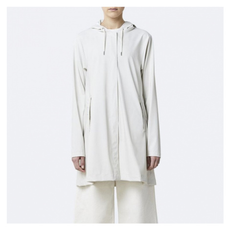 Płaszcz damski Rains A-line Jacket 1834 OFF WHITE
