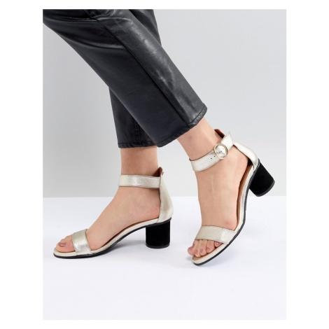 Selected Femme Metallic Heeled Sandal