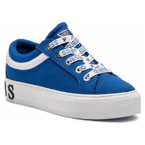 Tenisówki GUESS - FL5LY4 FAB12 BLUE