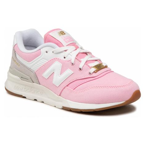Sneakersy NEW BALANCE - GR997HHL Różowy