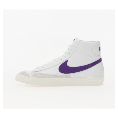 Nike Blazer Mid '77 Vintage White/ Voltage Purple-Sail