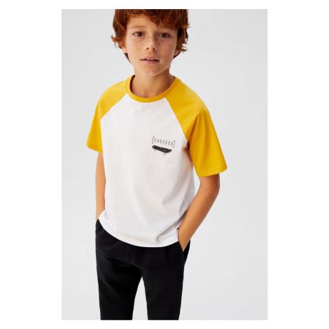Mango Kids - T-shirt dziecięcy Pipe 110-164 cm