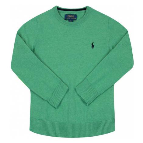 Polo Ralph Lauren Sweter Pima 322702192 Zielony Regular Fit