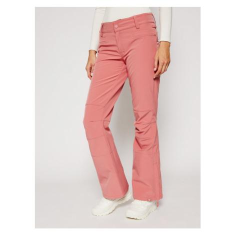 Roxy Spodnie narciarskie Creek ERJTP03123 Różowy Skinny Fit