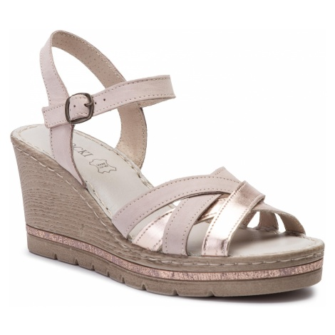 Sandały LASOCKI - M055 Różowy