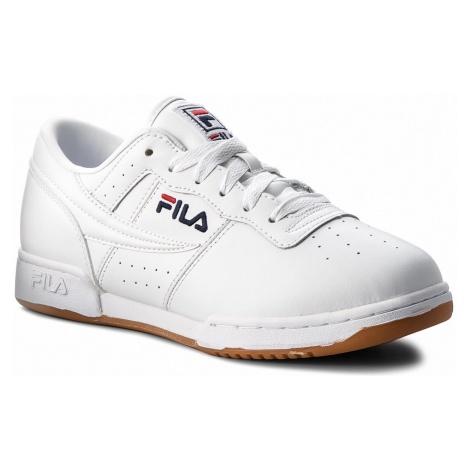 Sneakersy FILA - Original Fitness 1VF80172.150 White/Fila Navy/Fila Red