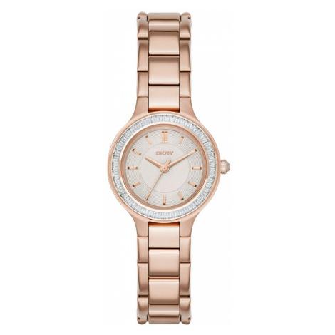 Zegarek DKNY - Chambers NY2393 Rose Gold/Rose Gold