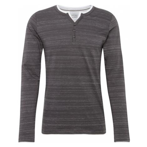 ESPRIT Koszulka 'N hen 2in1 ls' antracytowy / biały