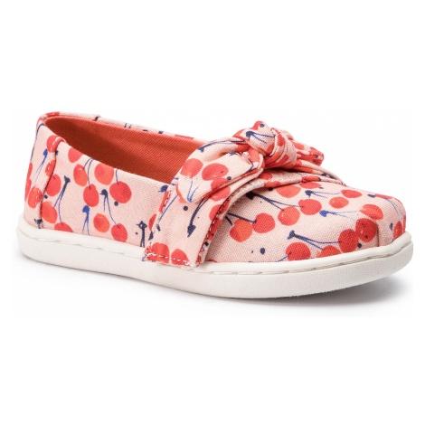 Półbuty TOMS - Classic 10013332 Coral Pink Cherry