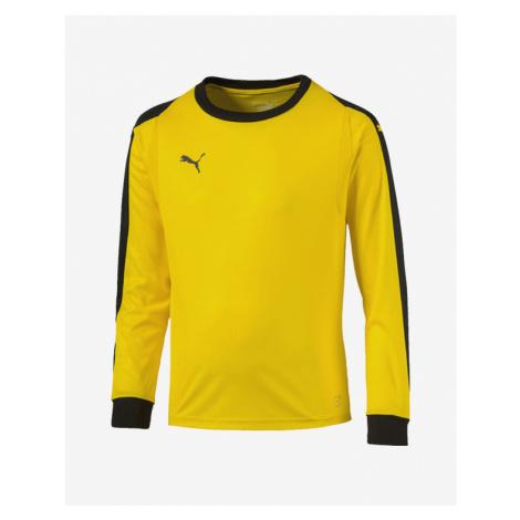 Puma Liga Gk Jersey Jr Koszulka dziecięce Żółty