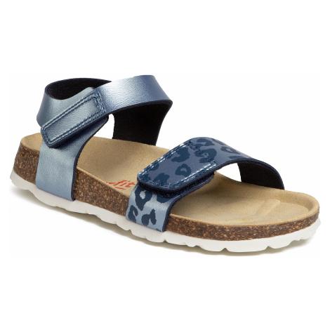Sandały SUPERFIT - 6-00123-80 S Blau