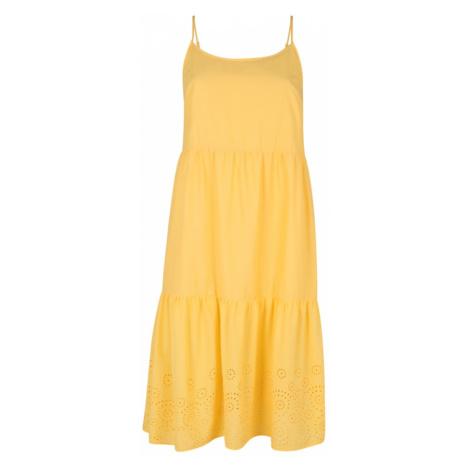 Vero Moda Curve Letnia sukienka 'HALO ' żółty