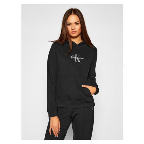 Calvin Klein Jeans Bluza Monogram J20J214803 Czarny Regular Fit