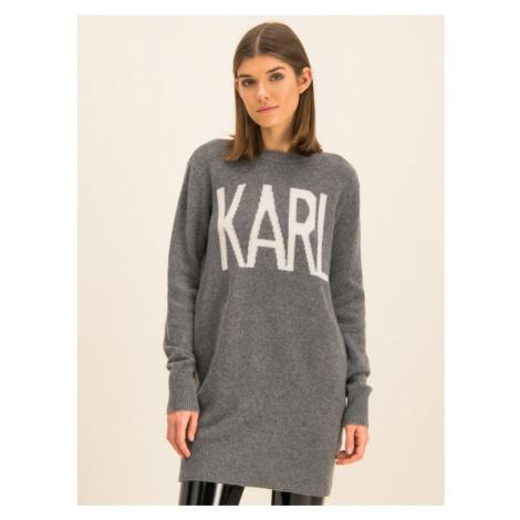 Sukienka dzianinowa Karl Lagerfeld