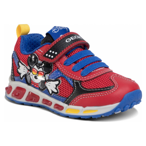 Sneakersy GEOX - J Shuttle B. A J0294A 01454 C7213 M Red/Royal