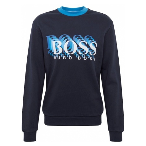 BOSS Bluzka sportowa 'Wardor 10211696 01' ciemny niebieski Hugo Boss