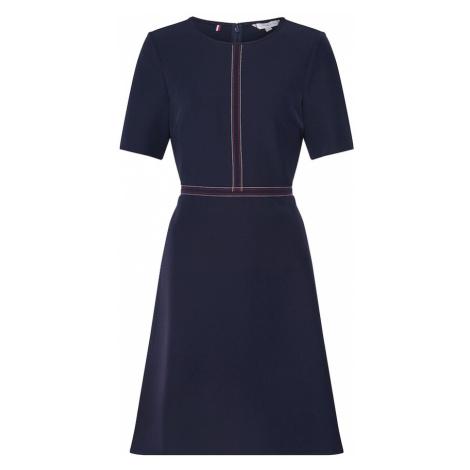 TOMMY HILFIGER Sukienka koktajlowa 'ANGELA' ciemny niebieski