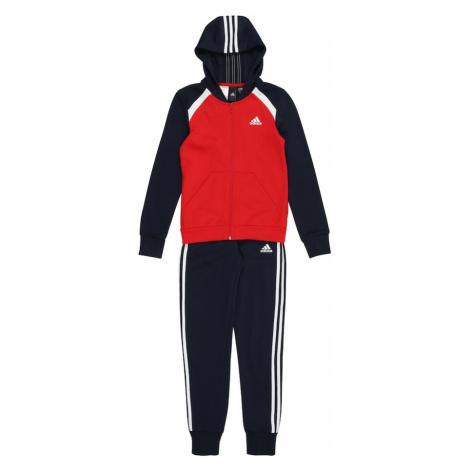 ADIDAS PERFORMANCE Strój treningowy biały / czerwony / czarny