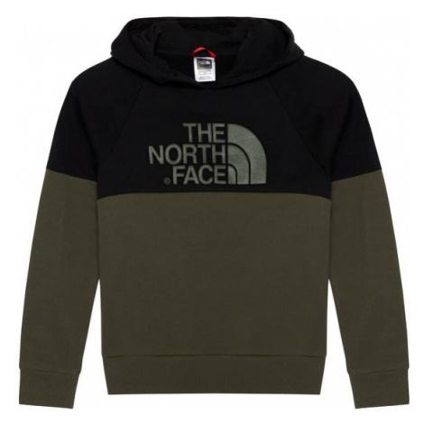 The North Face Bluza Drew Peak Reglan NF0A3L6KBQW1 Zielony Regular Fit