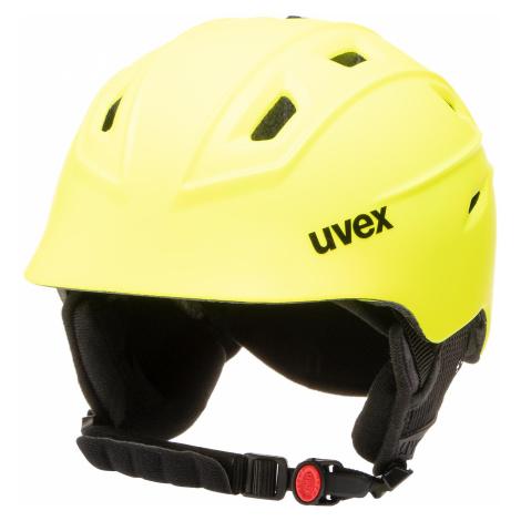 Kask narciarski UVEX - Fierce S5662256003 Yellow Mat