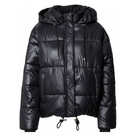 Urban Classics Kurtka zimowa 'Ladies Vanish Puffer Jacket' czarny