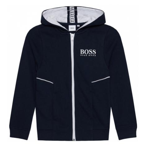 Boss Bluza J25J09 S Granatowy Regular Fit Hugo Boss