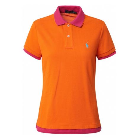 POLO RALPH LAUREN Koszulka różowy / pomarańczowy