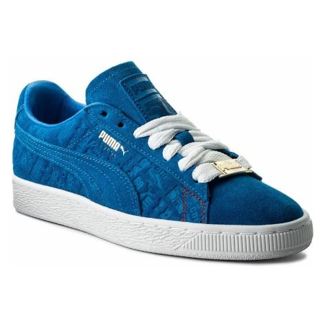 Sneakersy PUMA - Suede Classic Paris 366298 01 Electric Blue Lemonade