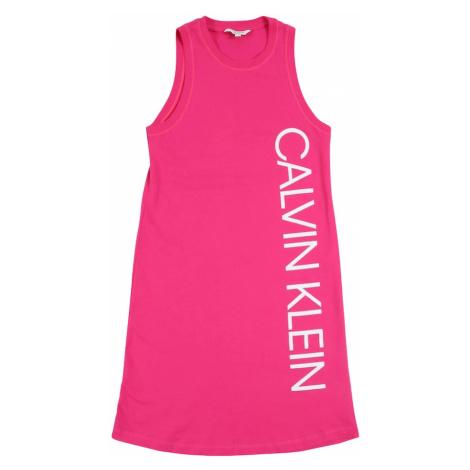 Calvin Klein Swimwear Sukienka 'TANK DRESS' różowy