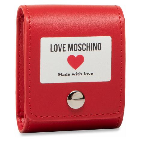 Etui na słuchawki LOVE MOSCHINO - JC6401PP1CLI0500 Rosso