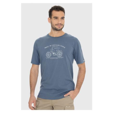 Szaroniebieski T-shirt Bushman Bobstock