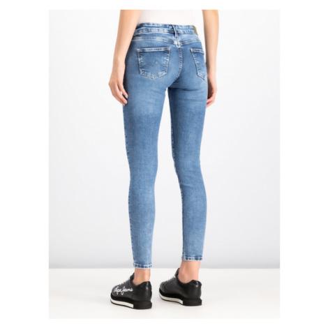 Pepe Jeans Jeansy Pixie PL200025 Granatowy Skinny Fit