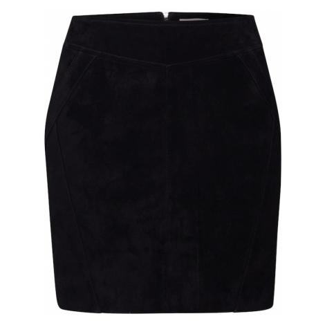 VILA Spódnica 'SUSA' czarny