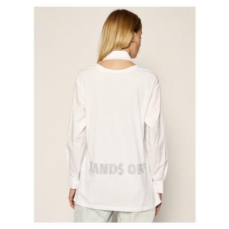 Patrizia Pepe Koszula 8J0914/A5J8-W103 Biały Regular Fit