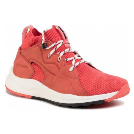 Columbia Sneakersy Sh/Ft Outdry Mid BL1020 Różowy