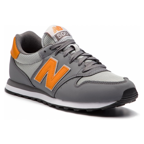 Sneakersy NEW BALANCE - GM500SCG Szary