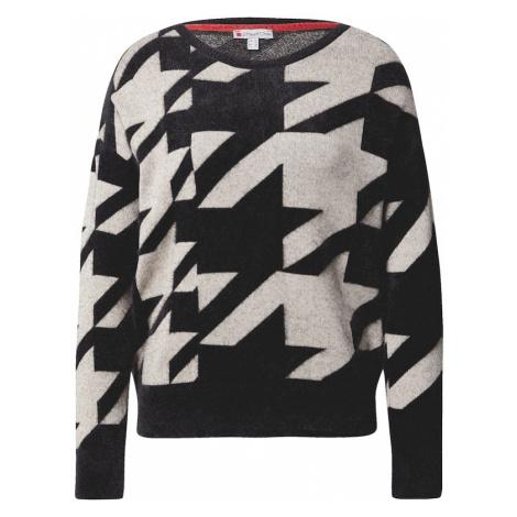 STREET ONE Sweter czarny / szary