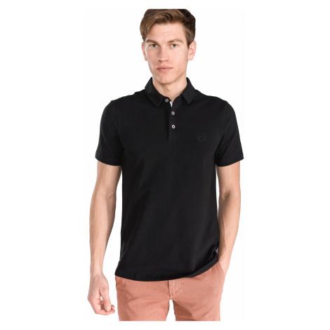 Armani Exchange Polo Koszulka Czarny